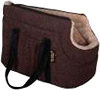 Сумка для животных Pride Елочка / 10051411 (коричневый) -