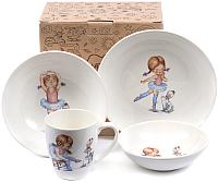 Набор столовой посуды Белбогемия Соната. Балерина 0842Балерина -