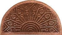 Коврик грязезащитный Pobji Emporium Poly Ribbed Carpet PBJ-1310 (0.45x0.75, коричневый) -