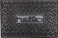 Коврик грязезащитный Pobji Emporium Poly Ribbed Carpet PBJ-1316 (0.4x0.6, серый) -