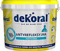Краска Dekoral Полинак Плюс (1л, снежно-белый) -