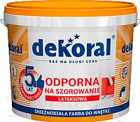 Краска Dekoral Акрилит W Plus (1л, снежно-белый) -
