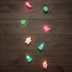 Светодиодная гирлянда Neon-Night Новый год 303-081 (1.5м, теплый белый) -