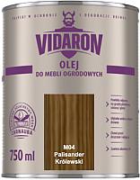 Масло для древесины Vidaron M04 Палисандр (750мл) -