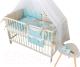 Комплект в кроватку Martoo Mosaik 7 (голубой/бежевый) -
