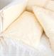 Детское постельное белье Martoo Comfy B (белый/бежевый) -