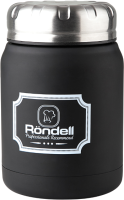 Термос для еды Rondell Picnic RDS-942 (черный) -
