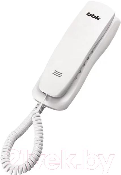 Проводной телефон BBK BKT-105 (белый) Барановичи поиск и покупка