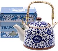 Заварочный чайник Белбогемия Синий узор 25628723 / 89011 -