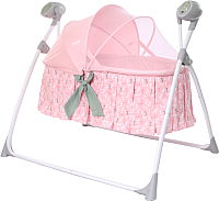 Качели для новорожденных Carrello Dolce CRL-7501 (bow pink) -