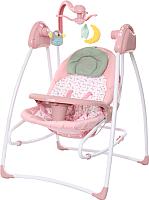 Качели для новорожденных Carrello Grazia CRL-7502 (bow pink) -