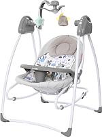 Качели для новорожденных Carrello Grazia CRL-7502 (lovely grey) -