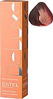 Крем-краска для волос Estel De Luxe High Flash 65 (фиолетово-красный) -