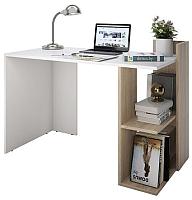 Письменный стол Domus СП017 правый / dms-sp017R-8685-K017 (белый/вяз светлый) -