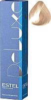 Крем-краска для волос Estel De Luxe 10/1 (светлый блондин пепельный) -