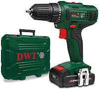 Аккумуляторный шуруповерт DWT ABS-14.4 L-2 BMC (7640159747611) -