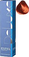 Крем-краска для волос Estel De Luxe 6/5 (темно-русый красный) -