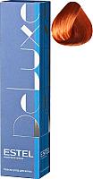 Крем-краска для волос Estel De Luxe 7/44 (русый медный интенсивный) -