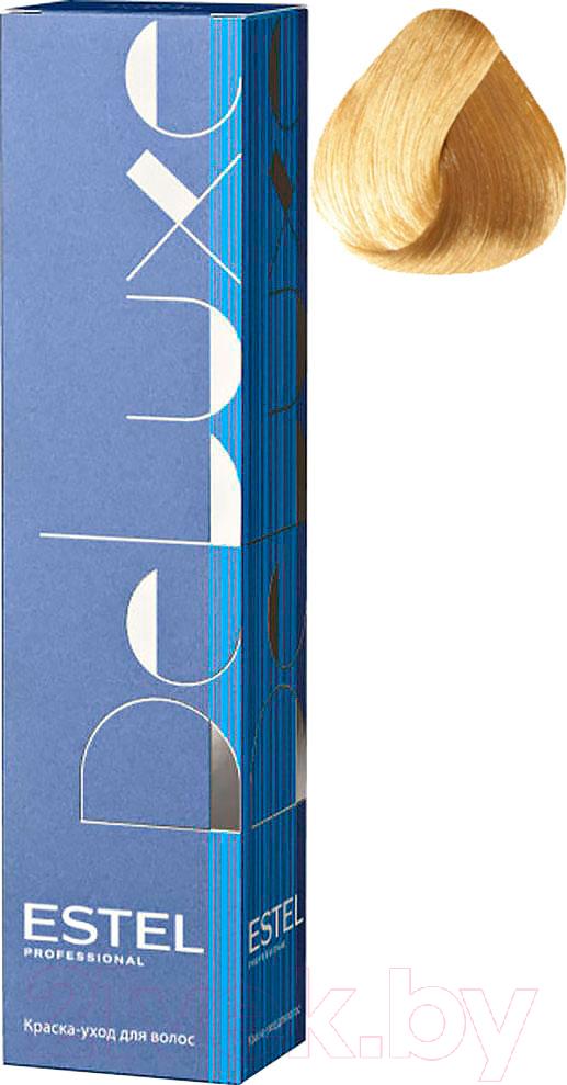 Купить Крем-краска для волос Estel, De Luxe 8/36 (светло-русый золотисто-фиолетовый), Россия, блонд