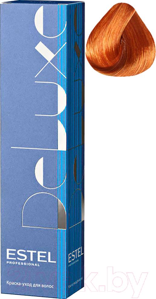 Купить Крем-краска для волос Estel, De Luxe 8/4 (светло-русый медный), Россия, рыжий