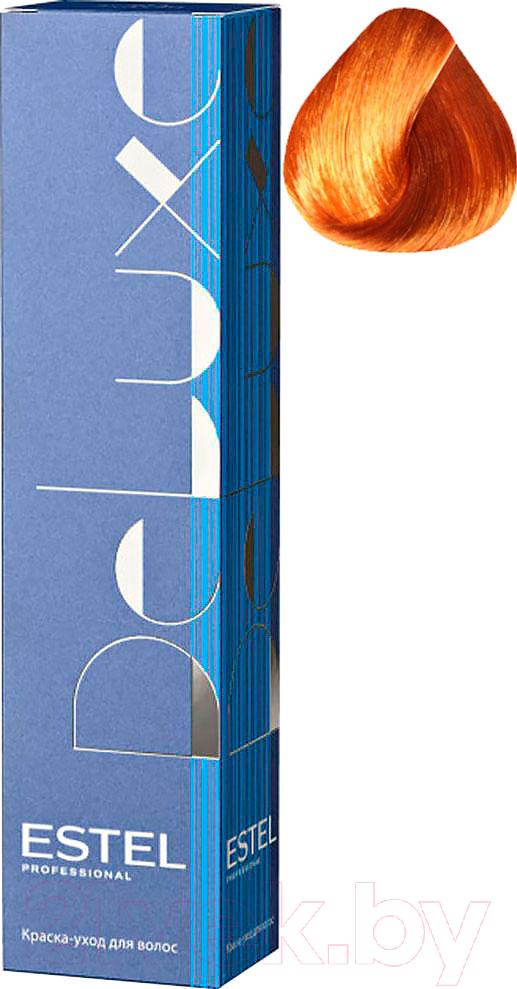 Купить Крем-краска для волос Estel, De Luxe 8/44 (светло-русый медный интенсивный), Россия, рыжий