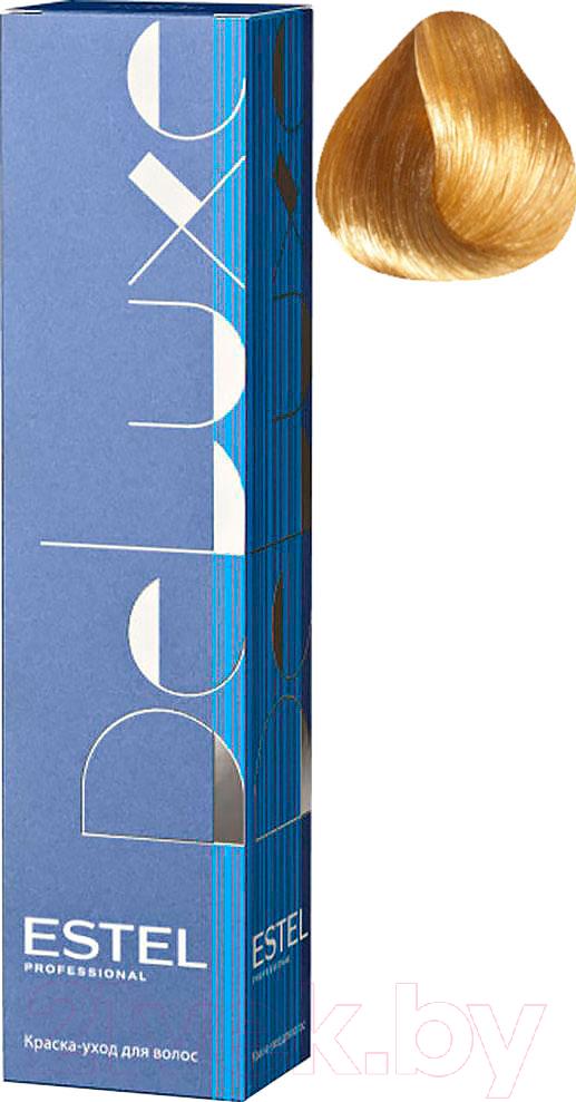 Купить Крем-краска для волос Estel, De Luxe 8/7 (светло-русый коричневый), Россия, блонд