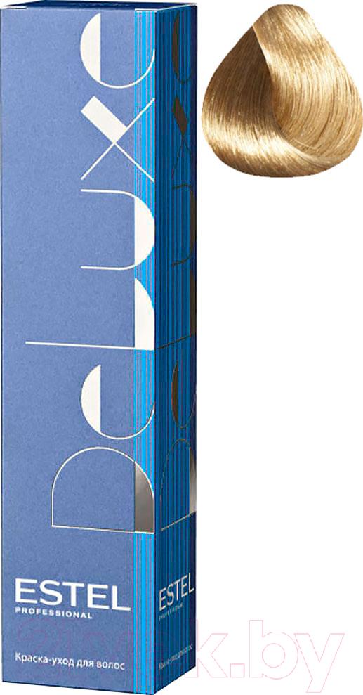 Купить Крем-краска для волос Estel, De Luxe 8/71 (светло-русый коричнево-пепельный), Россия, блонд