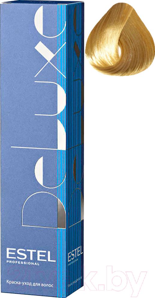 Купить Крем-краска для волос Estel, De Luxe 9/13 (блондин пепельно-золотистый), Россия