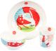Набор детской посуды Happy Baby Fox / 15055 -