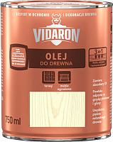 Масло для древесины Vidaron D06 Белый дуб (750мл) -