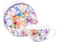 Чашка с блюдцем Белбогемия Orchid RN10006-426 / 84466 -