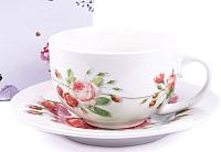 Чашка с блюдцем Белбогемия Royal Rose RN10004-JX021 / 84467 -