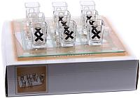 Набор для напитков Белбогемия Крестики-Нолики GM12009 / 89080 -