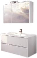Комплект мебели для ванной Riho Porto SET 23 / FPO060DP0DP0S23 -
