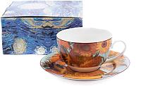 Чашка с блюдцем Белбогемия Ван Гог. Подсолнухи RN10004-Z039 / 86272 -