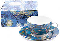 Чашка с блюдцем Белбогемия Ван Гог. Цветущий миндаль RN10004-Z042 / 86273 -