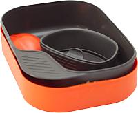 Набор пластиковой посуды Wildo Camp-A-Box Light / W20262 (оранжевый) -