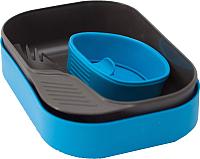 Набор пластиковой посуды Wildo Camp-A-Box Light / W202633 (голубой) -