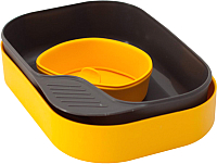 Набор пластиковой посуды Wildo Camp-A-Box Basic / W302612 (лимонный) -