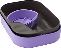 Набор пластиковой посуды Wildo Camp-A-Box Basic / W30263 (фиолетовый) -