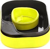 Набор пластиковой посуды Wildo Camp-A-Box Basic / W302611 (желто-зеленый) -