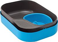 Набор пластиковой посуды Wildo Camp-A-Box Basic / W302633 (голубой) -