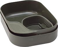 Набор пластиковой посуды Wildo Camp-A-Box Basic / W30264 (зеленый) -
