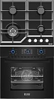 Комплект встраиваемой техники Zorg Technology BE10 LD BL + BP6 FDW BL -