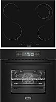 Комплект встраиваемой техники Zorg Technology BE11 TT BL + MS163 BL -