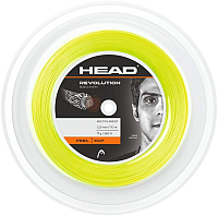 Струна для сквоша Head Revolution Squash 17 / 281186-YW (110м, желтый) -