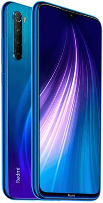 Смартфон Xiaomi Redmi Note 8 4GB/64GB (Голубой Нептун) -