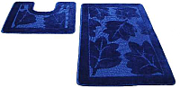 Набор ковриков Shahintex РР 50x80/50x50 (индиго) -