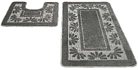 Набор ковриков Shahintex РР 50x80/50x50 (серый) -