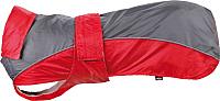 Попона для животных Trixie Lorient / 30278 (XL, красный/серый) -